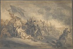 Study for the Death of General Warren at Bunker's Hill