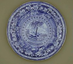 Plate with the Arms of South Carolina