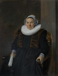 Portrait of an Elderly Woman, traditionally called Mevrouw Bodolphe