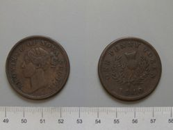Penny Token from Nova Scotia