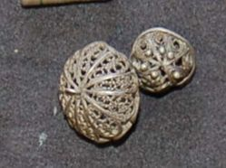 Two Filigree Beads