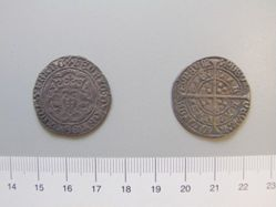 1 Groat of Henry VI, King of England from Calais