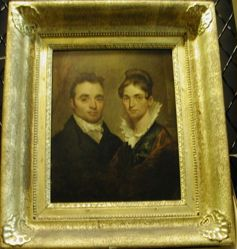 Dr. (d.1826) and Mrs. Thomas Holman (Lucia Ruggles), (d.1886)