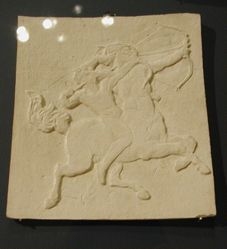 The Centaur Chiron and His Pupil Achilles