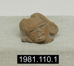 Figurine head fragment