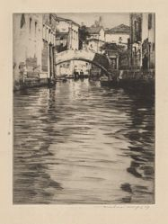Reflections, Venice (Bridge of Luciano, Grand Canal)
