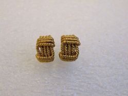 Pair of Twisted Wire Ear Ornaments