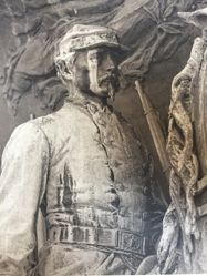 Robert Gould Shaw Memorial by Augustus Saint-Gaudens, from the series Lay This Laurel