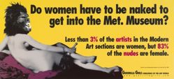 Do Women Have to Be Naked to Get into the Met. Museum?, from the Guerrilla Girls' Portfolio Compleat 1985-2008