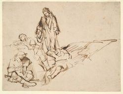 Study of Christ and the Sleeping Apostles