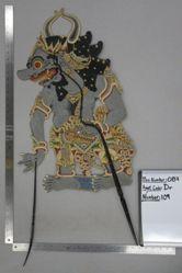 Shadow Puppet (Wayang Kulit) of Prabu Masosuro, from the set Kyai Drajat