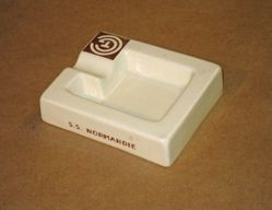Ashtray from S.S. Normandie