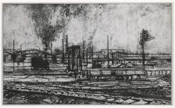 Untitled (Railroad Yard)