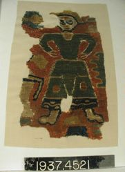 Fragment of slit tapestry