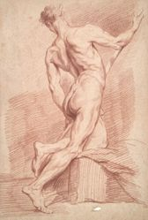 Study of nude male