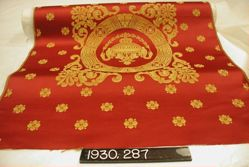 Length of compound satin, copy of 1812 fabric