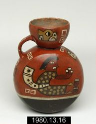 Vessel with Seated Figure
