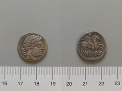 Denarius from Osca