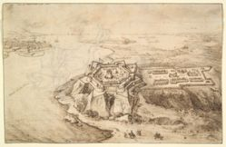 View of Attamanskoy-Gorod and Assach