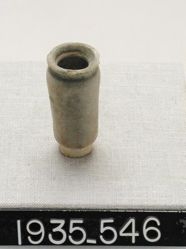 Small cylindrical vase