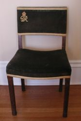 Chair Used at Coronation of George VI