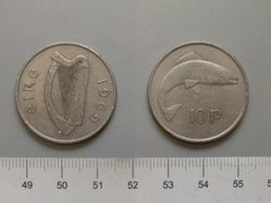 10 Pence from Ireland