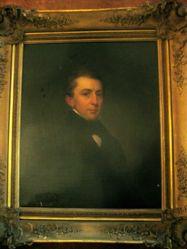 James Abraham Hillhouse(1789-1841), B.A. 1808, M.A. 1811 (copy after John Vanderlyn)
