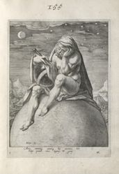 Cholericus (Fire), plate 2 of 4 prints from the series The Four Temperaments