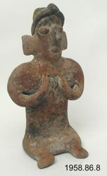 Seated Woman Figurine