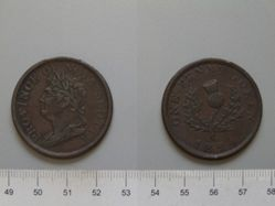 1 Penny of George IV, King of Great Britain from Halifax