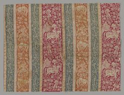 Textile Fragment with the Story of Khusrow and Shirin