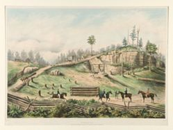 The Victoria Lean mines; Township of Rossie. County of St. Lawrence, State of New York.