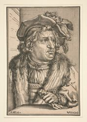 Man in a Plumed Hat (erroneously called Otto Heinrich, Count of Schwarzenberg)