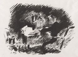 Under the Lamp, from Stéphane Mallarmé's translation of Edgar Allan Poe's The Raven