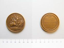 Bronze medal of John Eager Howard, the Battle of Cowpens