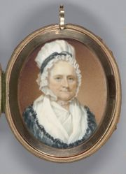Mrs. George Washington (Martha Dandridge, Mrs. Daniel Parke Custis) (1732–1802)