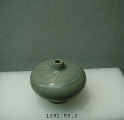 Sawankhalok Celadon Miniature Oil Jar