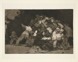 Disparate general (General Folly), pl. 9 from the series Los proverbios