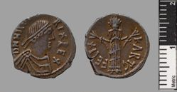 Denarius of Hilderic from Carthage
