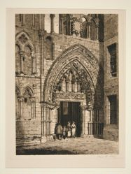 West Doorway, Holyrood