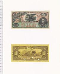 1 Boliviano of El Banco Nacional de Bolivia from Bolivia