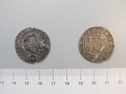 Silver sixpence of the Commonwealth
