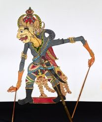 Shadow Puppet (Wayang Kulit) of Boma or Bomancik