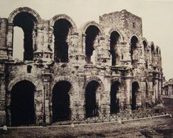 Arles, Amphithéâtre, from the portfolio Chemins de fer de Paris á Lyon et á la Méditerranée (Railroads from Paris to Lyon and the Mediterranean)