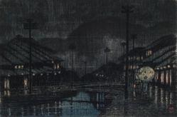 Evening Rain in Tajima Kinosaki