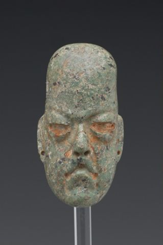 Head, originally from a Figure, reused as a Pendant