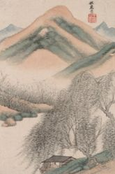 Landscapes in the Styles of Old Masters; Landscape after Hui Chong (965–1017)