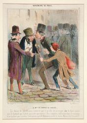 Le Md. de Chaines du Suretes. La chaine de surete ainsi nommee par ce qu'elle est...from Bohemiens de Paris