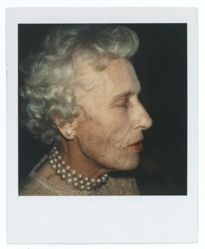 Untitled [Unidentified Woman in Gold Thread Blouse]