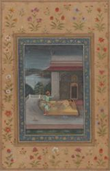 Ragini Vibhas : part of a Ragamala